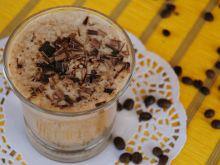 Kawowo-bananowy shake