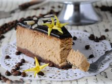 Kawowo-czekoladowy sernik