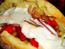 Kebab w chlebku pita