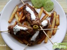 Kebabki z oliwkami