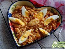 Kedgeree-jajka z kurczakiem i ryżem