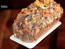 Domowy keks kolorowy