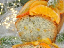 Keks makowo- pomarańczowy