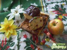 Keks świąteczny serowo - śliwkowy