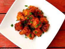 Kęski kurczaka w sosie chilli z miodem