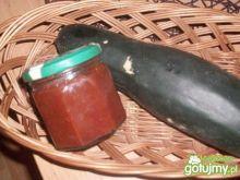 ketchup z cukini