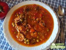 kiełbasa w pikantnym sosie