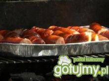 Kiełbaska z czosnkiem grillowana