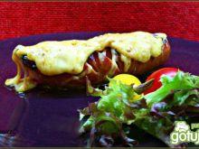 Kiełbaski piwne z serem