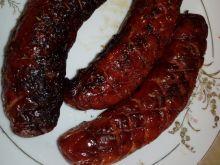 Kiełbaski z grilla w miodowej glazurze