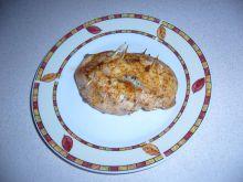 Kieszonka z kurczaka nadziana ziołowym masełkiem