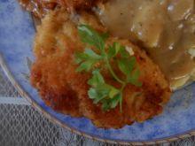 Kieszonki z kurczaka z kaszanką