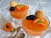Kisiel morelowy z kawałkami owoców i nutką wanilii