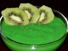 Kisiel o smaku kiwi