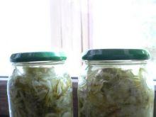 Kiszone tarte ogórki na zupę ogórkową