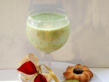 Kiwi kiwa jogurtem: