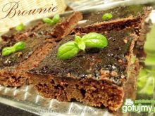 Klasyczne czekoladowe ciasto brownie