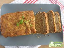 Klops z kaszy gryczanej, sera i ziemniak