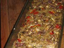 Klops z wieprzowiny, ryżu i warzyw