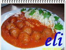 Klopsiki Eli w sosie pomidorowym