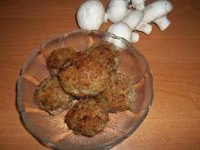 Klopsiki mięsno - pieczarkowe