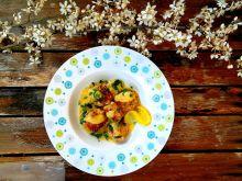 Klopsiki w sosie cytrynowym