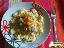 Klopsiki w sosie z curry