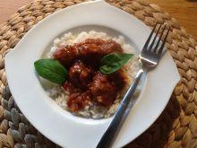 Klopsiki wołowe w sosie pomidorowym