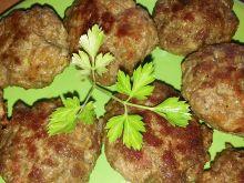 Klopsiki z dwóch rodzajów mięs