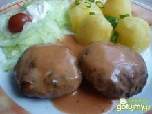 Klopsiki z mięsa cielęcego w sosie