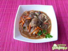 Klopsiki z mięsa w grzybowym sosie
