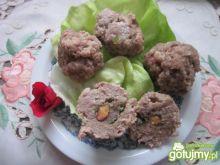 Klopsiki z orzeszkami wasabi