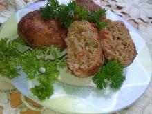 Klopsy mięsno - kapuściane z papryką czerwoną