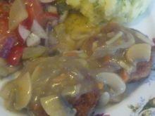Klopsy w sosie pieczarkowym