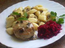 Klopsy wieprzowe w sosie pieczarkowym