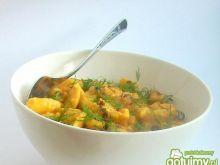 Kluseczki z marchewką i kurkumą