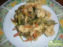 Kluseczki z warzywami