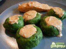 Kluseczki ze szpinakiem i serem wg Elfi