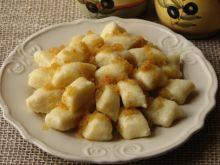 Kluski leniwe z białym serem i ziemniakami