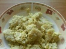 Kluski podsmażane z jajkami