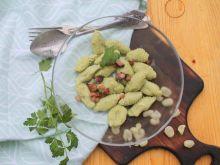 Kluski z bobu zwane gnocchi