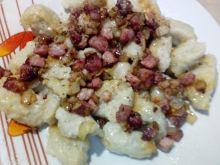 Kluski z surowych tartych ziemniaków