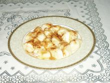 Kluski z ziemniakami i serem