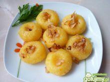 Kluski ziemniaczane z marchewką