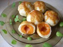 Knedle serowe z morelkami