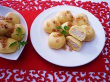 Knedle z kaszą jaglaną i serem