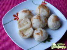 Knedle ziemniaczano-serowe z jabłkami