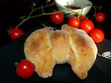 Kokardki mięsno- pieczarkowe z pomidorkami cherry