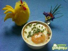 Kokilkowa zapiekanka z jajkiem