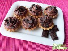 Kokosowe babeczki z czekoladowym kremem